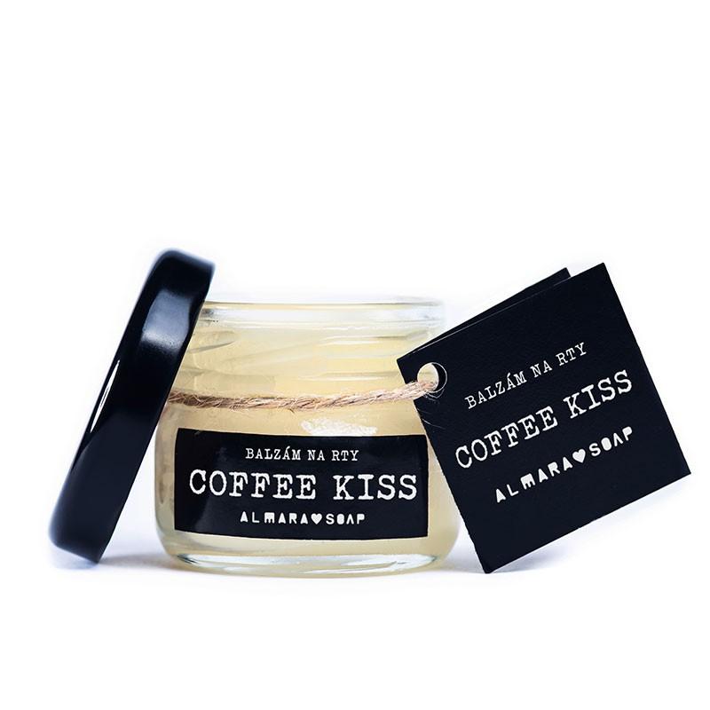 Almara Soap Balzám na rty Coffee Kiss | Rozvoz květin Plzeň